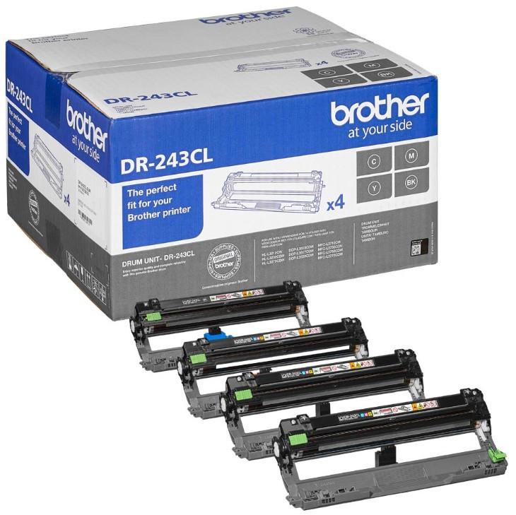 BROTHER Dobegység DR-243CL, Kb. 18.000 A4/Letter méretű oldal (1 oldal / feladat)
