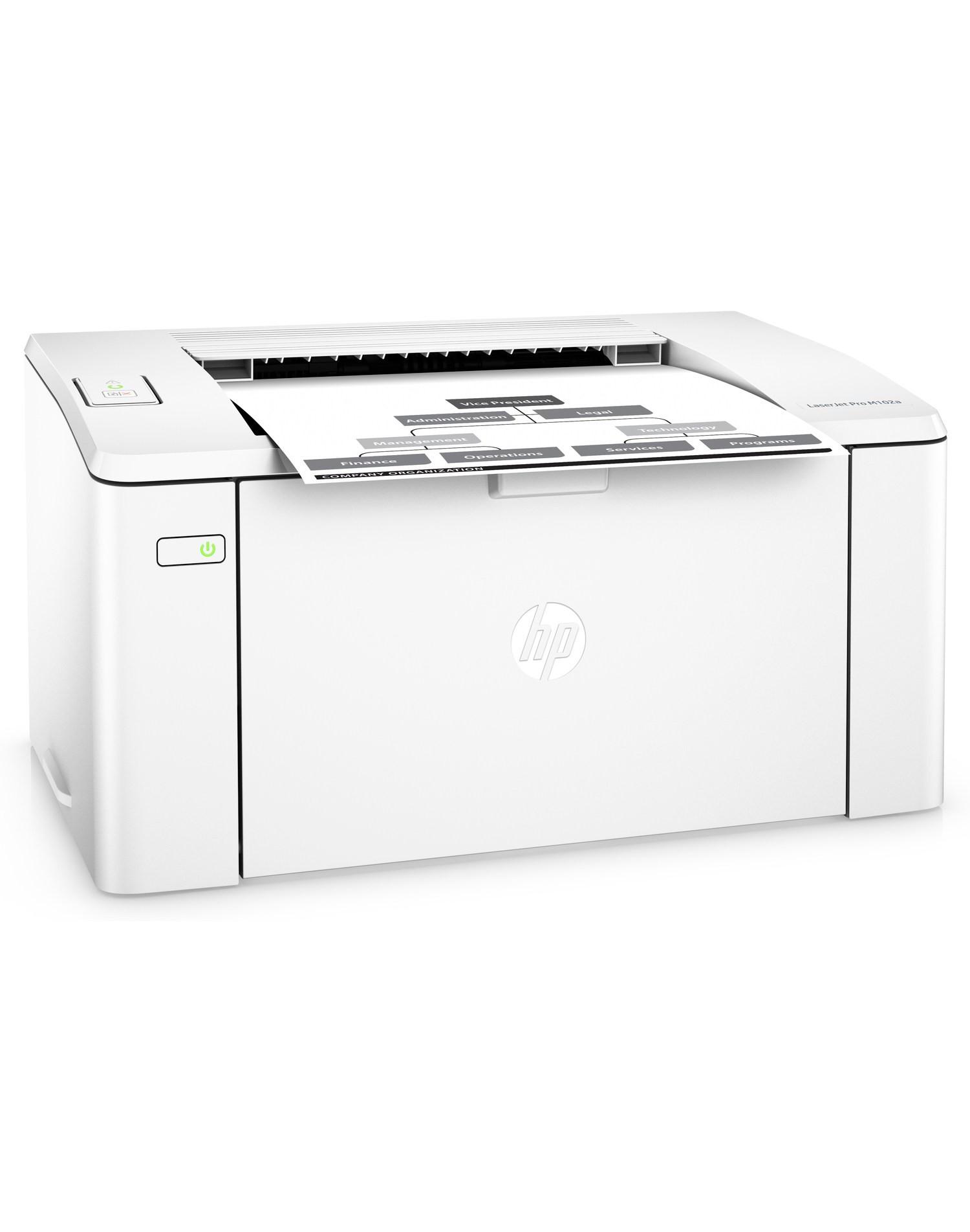 HP LaserJet Pro M102a A4, mono, lézernyomtató
