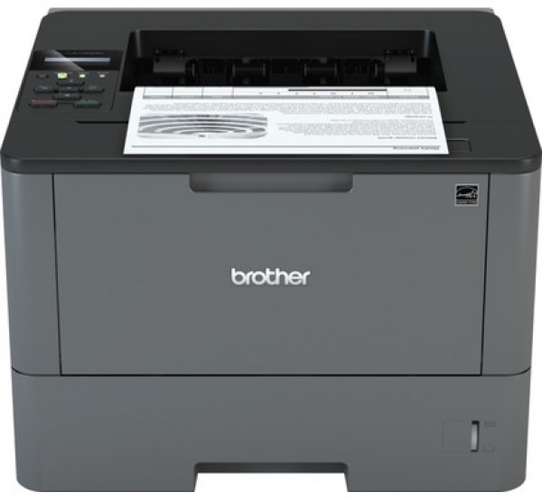 BROTHER Lézernyomtató HL-L5200DW, A4, mono, 40 lap/perc, WiFi/LAN/USB, duplex, 1200x1200dpi, 256MB