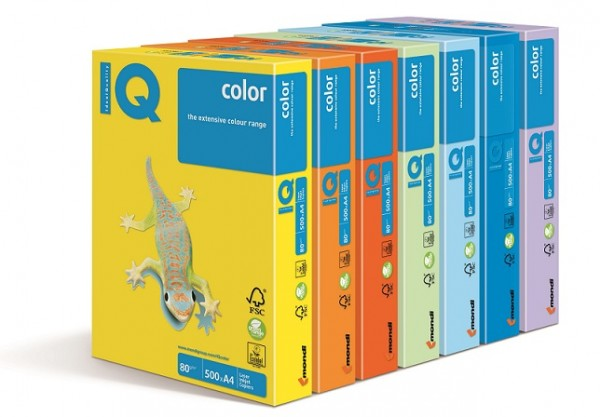 IQ Color A3 80g. LA12 Levendula, anyagában színezett másolópapír