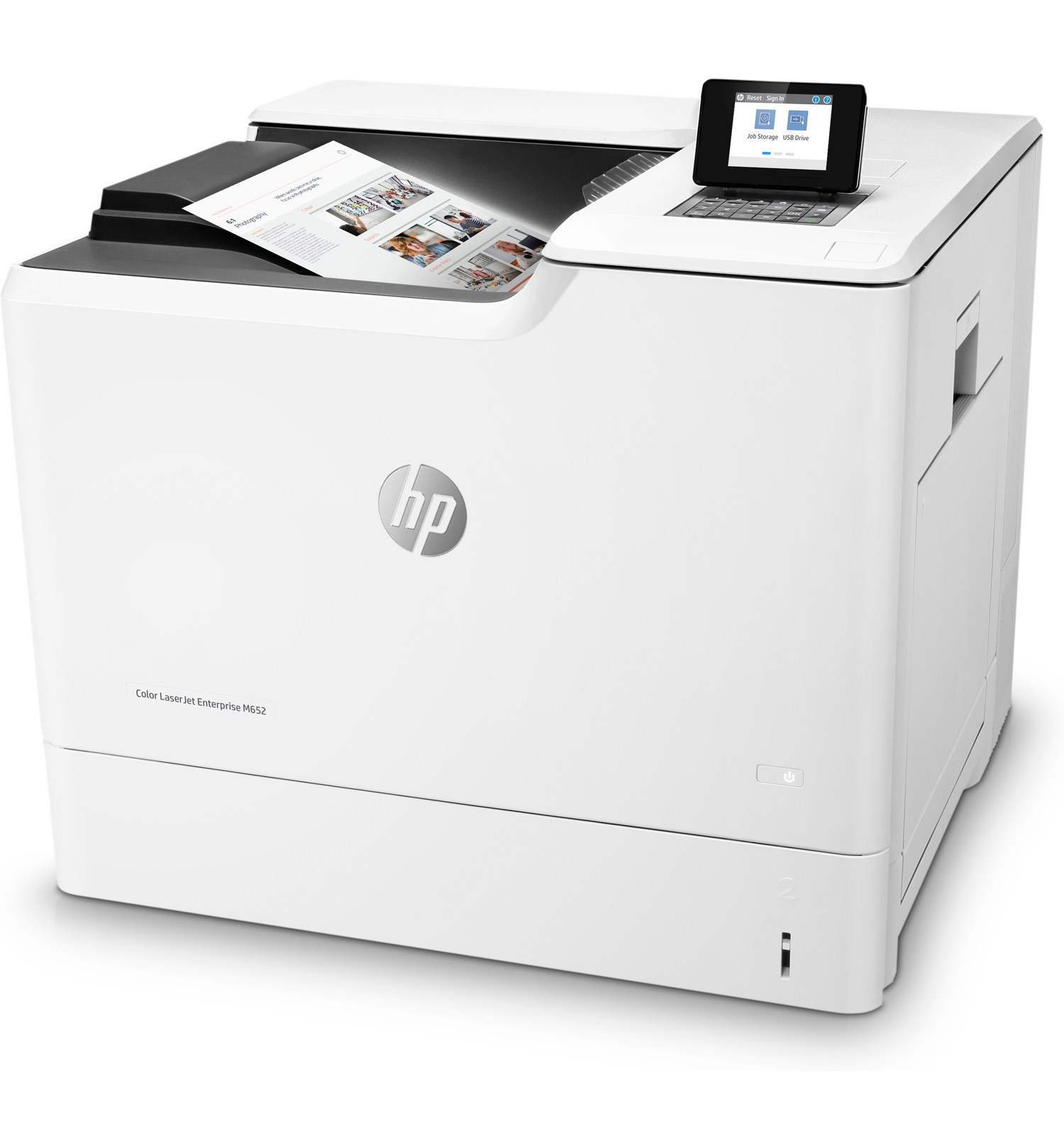 HP CLJ M652dn Színes Nyomtató