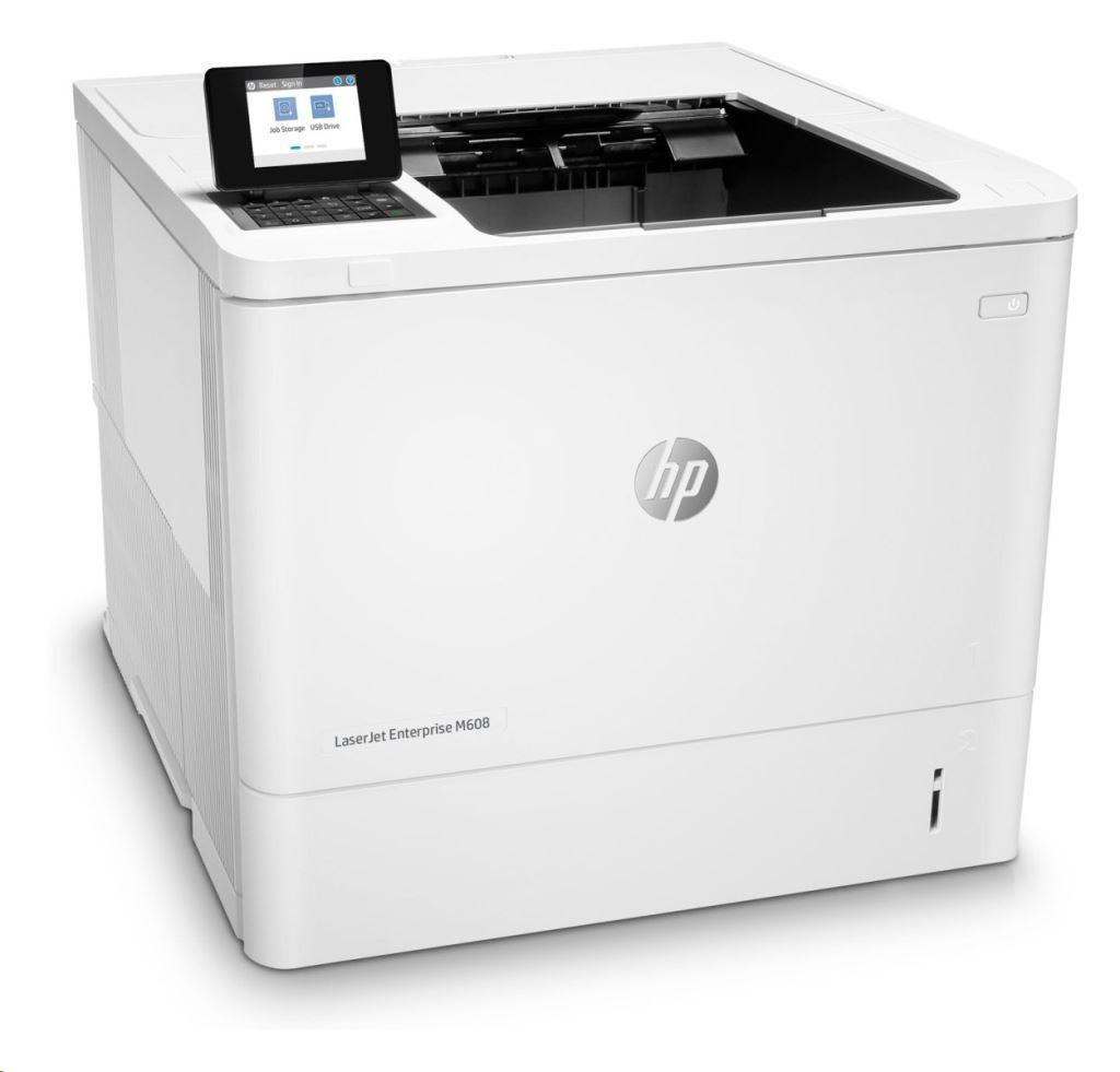 HP LaserJet Enterprise M608dn A4, mono, lézernyomtató hálózatos, duplex