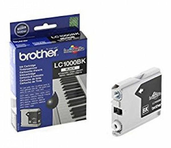 Brother LC1000-BK Tintapatron - Ink Cartridge 0,5K fekete (Black), eredeti