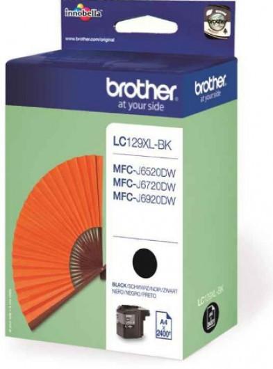 Brother LC129XL-BK Tintapatron - Ink Cartridge 2,4K fekete (Black), eredeti