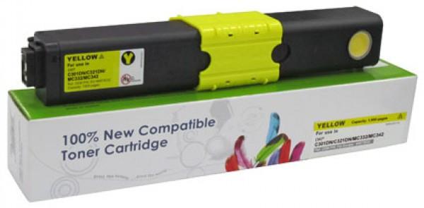 OKI C301,321,531 Cartridge Yellow 1,5K  CartridgeWeb (For use)