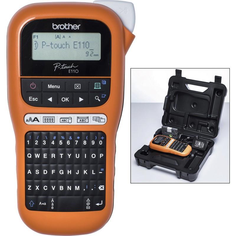 BROTHER PT-E110 ipari(kézi)