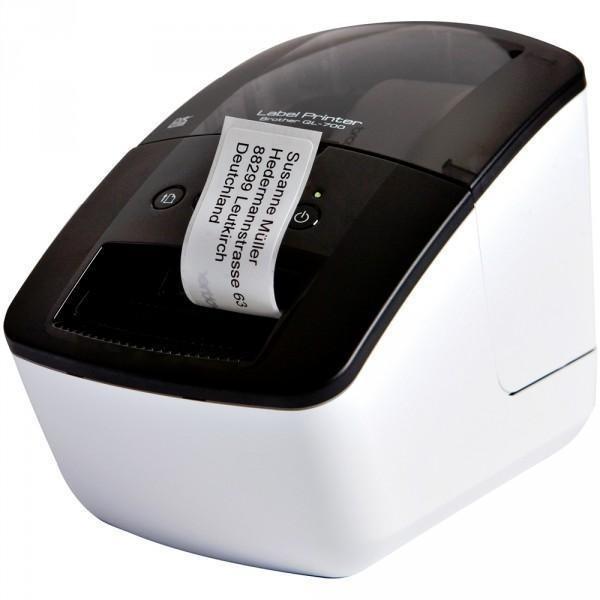 BROTHER QL-700 A4, mono, tintasugaras nyomtató