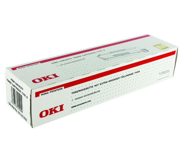 Oki B4300 High Capacity Toner Type9 (Eredeti)