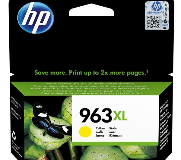 HP 3JA29AE Patron Yellow No.963XL (Eredeti)