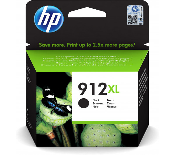 HP 3YL84AE Patron Black No.912XL (Eredeti)