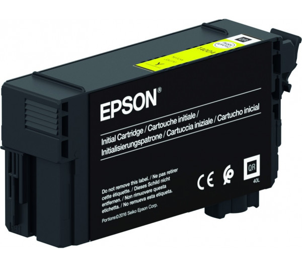 Epson T40C4 Patron Yellow 26ml (Eredeti)
