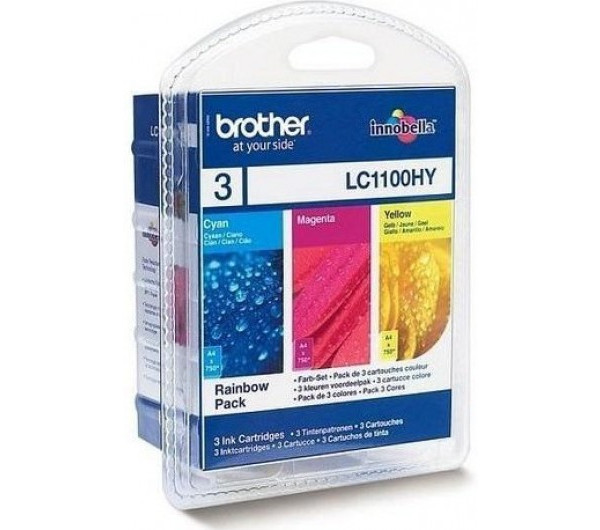 Brother LC1100 XL tintapatron C,M,Y (Eredeti)
