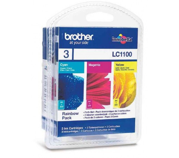 Brother LC1100 tintapatron C,M,Y (Eredeti)