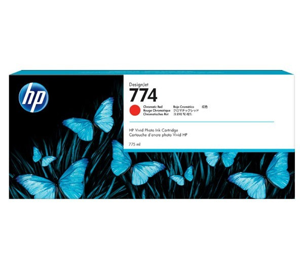 HP 774 775-ml Chromatic Red Ink Cartridge