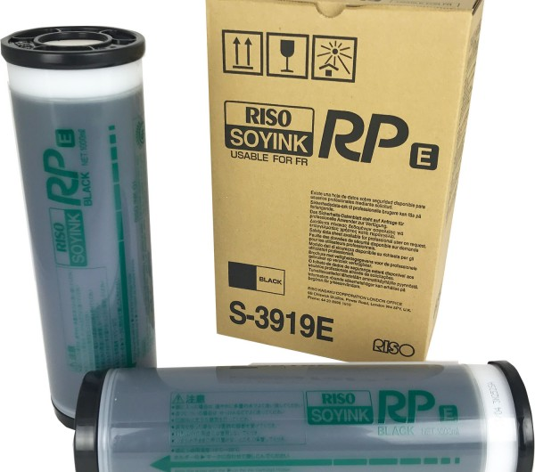Riso FR Ink Black 2x1000ml S3919E (Eredeti)