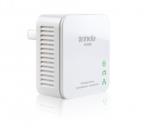 TENDA Powerline Adapter P200KIT 200Mbps Mini