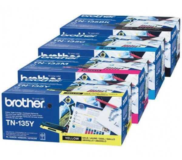 Brother TN135C toner Cyan (Eredeti)
