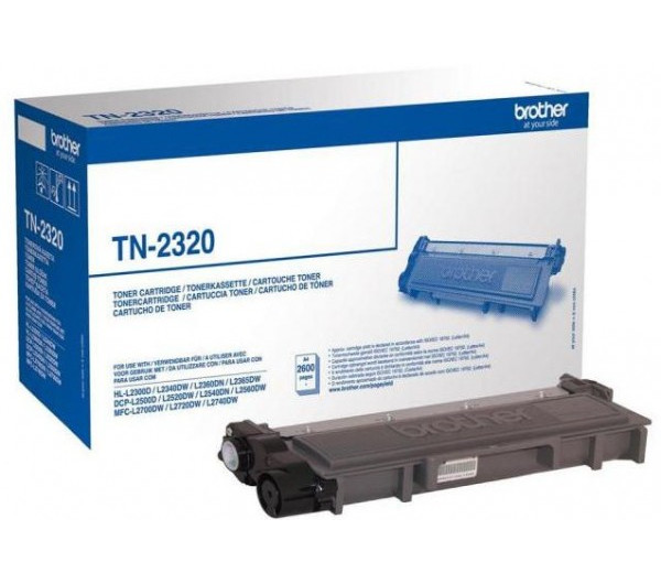 Brother TN2320 toner 2,6K (Eredeti)