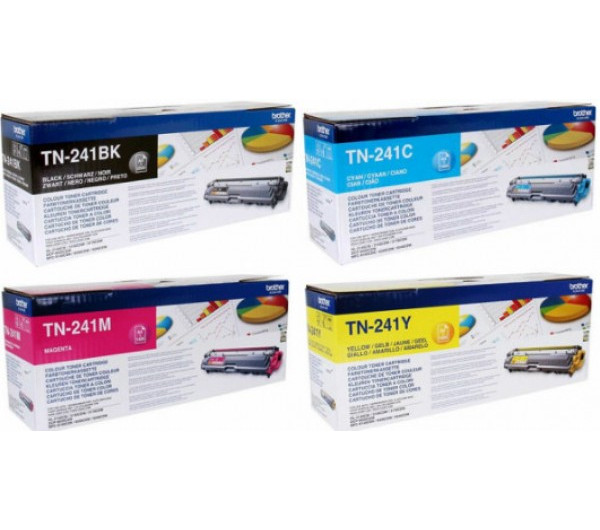 Brother TN241 toner Bk. (Eredeti)