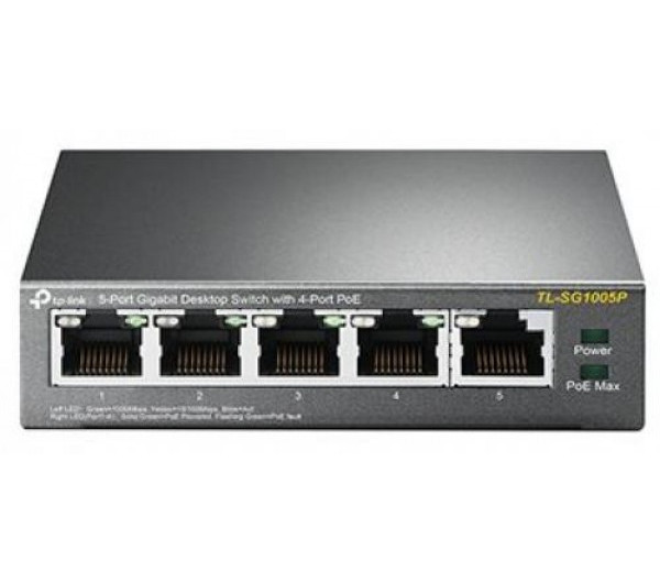 TP-LINK TL-SG1005P PoE Switch