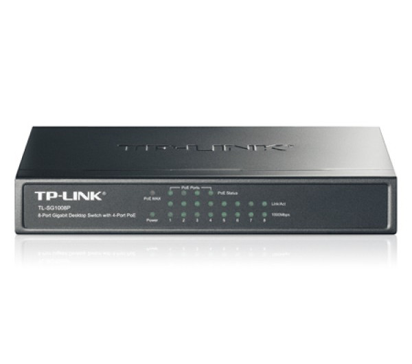 TP-LINK TL-SG1008P PoE Switch