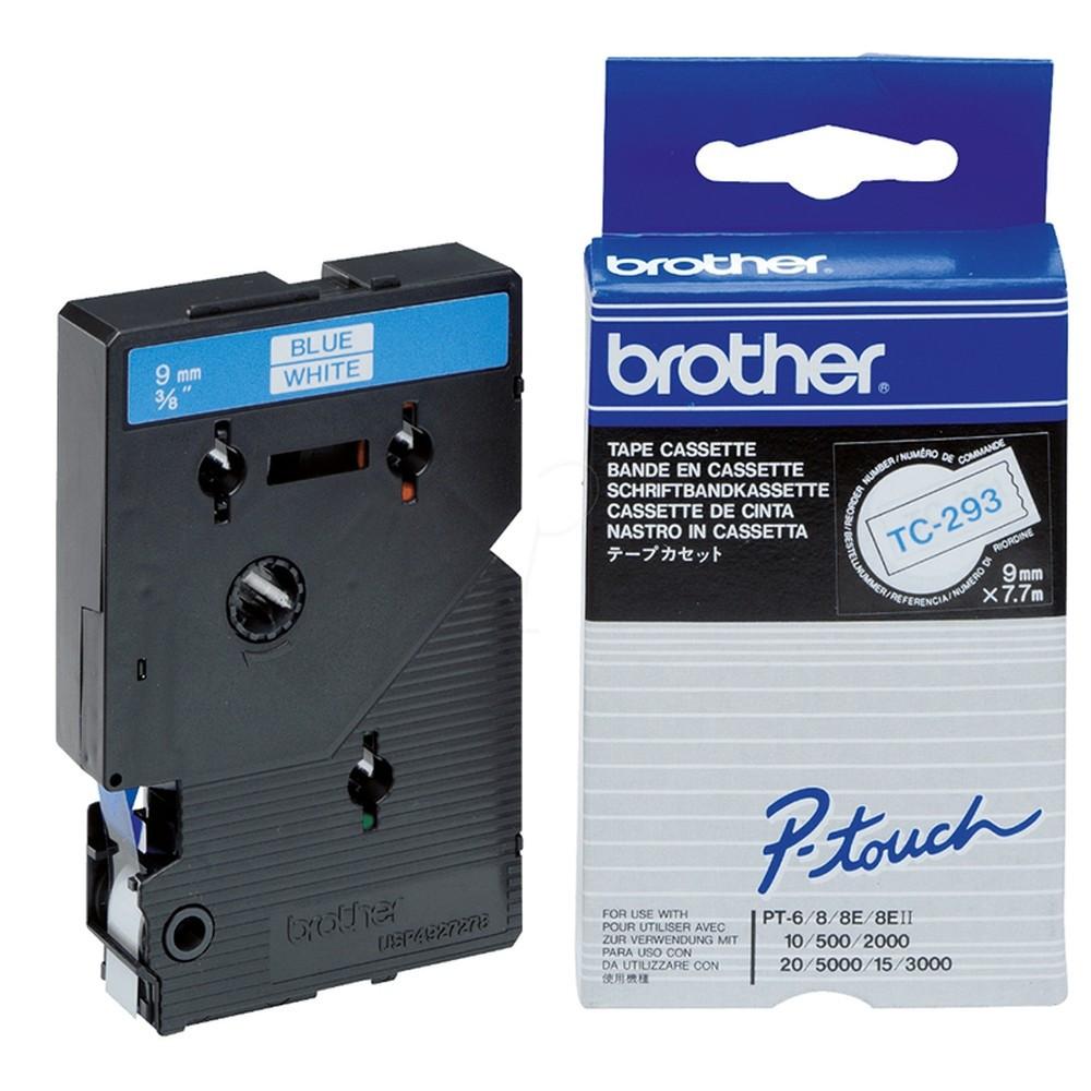 Brother TC293 Festékszalag - ribbon fehér, kék, eredeti