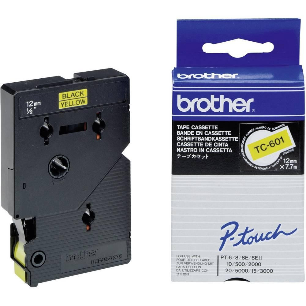 Brother TC601 Festékszalag - ribbon sárga, fekete, eredeti