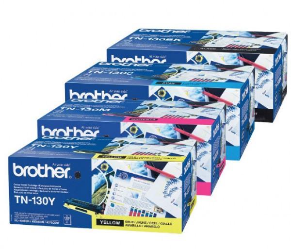 Brother TN-130C Toner - festékkazetta 1,5K cián (kék), eredeti