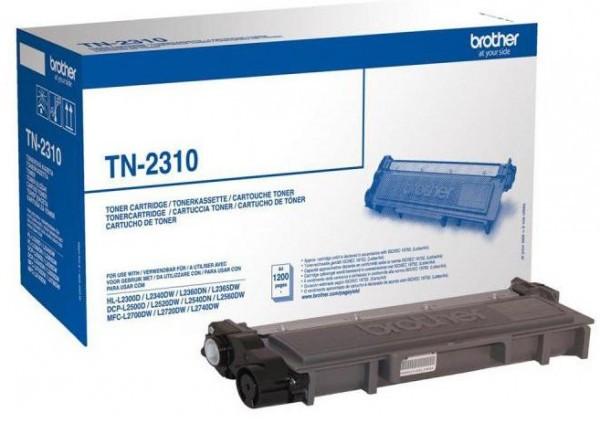 Brother TN-2310 Toner - festékkazetta 1,2K fekete (Black), eredeti