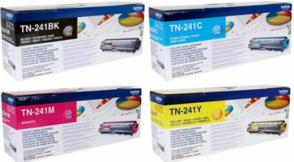 Brother TN-241Y Toner - festékkazetta 1,4K sárga (Yellow), eredeti