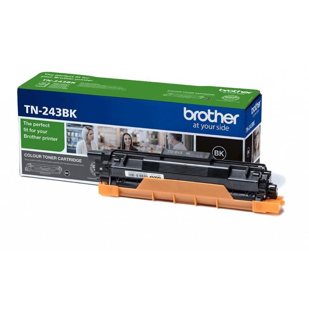 Brother TN243BK Toner - festékkazetta 1K Fekete (Black), eredeti