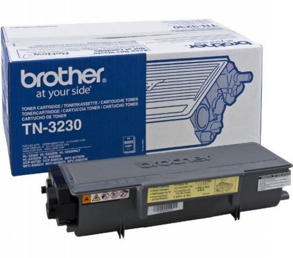 Brother TN-3230 Toner - festékkazetta 3K fekete (Black), eredeti