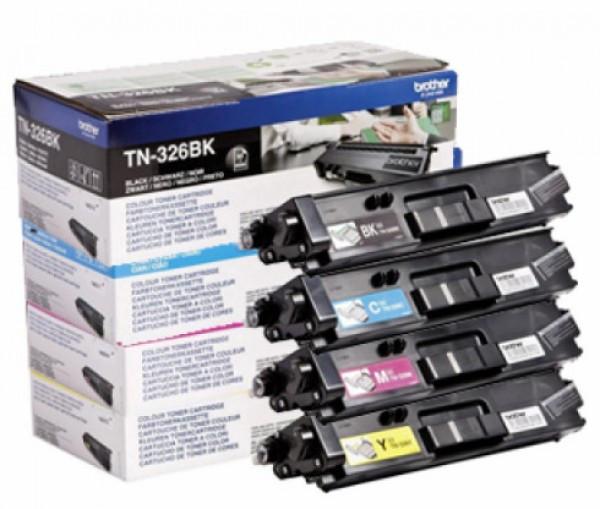 Brother TN-326BK Toner - festékkazetta 4K fekete (Black), eredeti