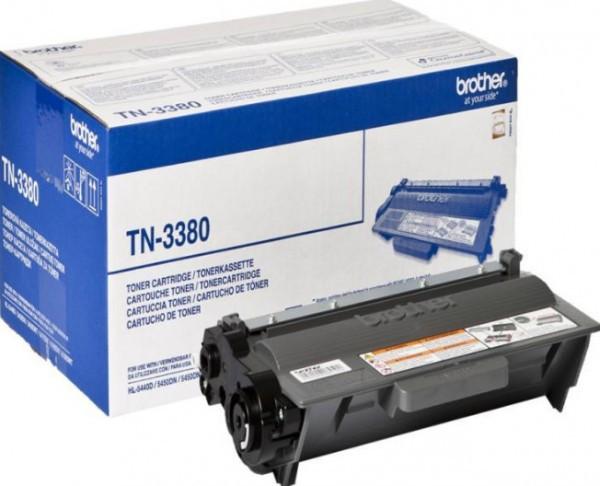 Brother TN-3380 Toner - festékkazetta 8K fekete (Black), eredeti