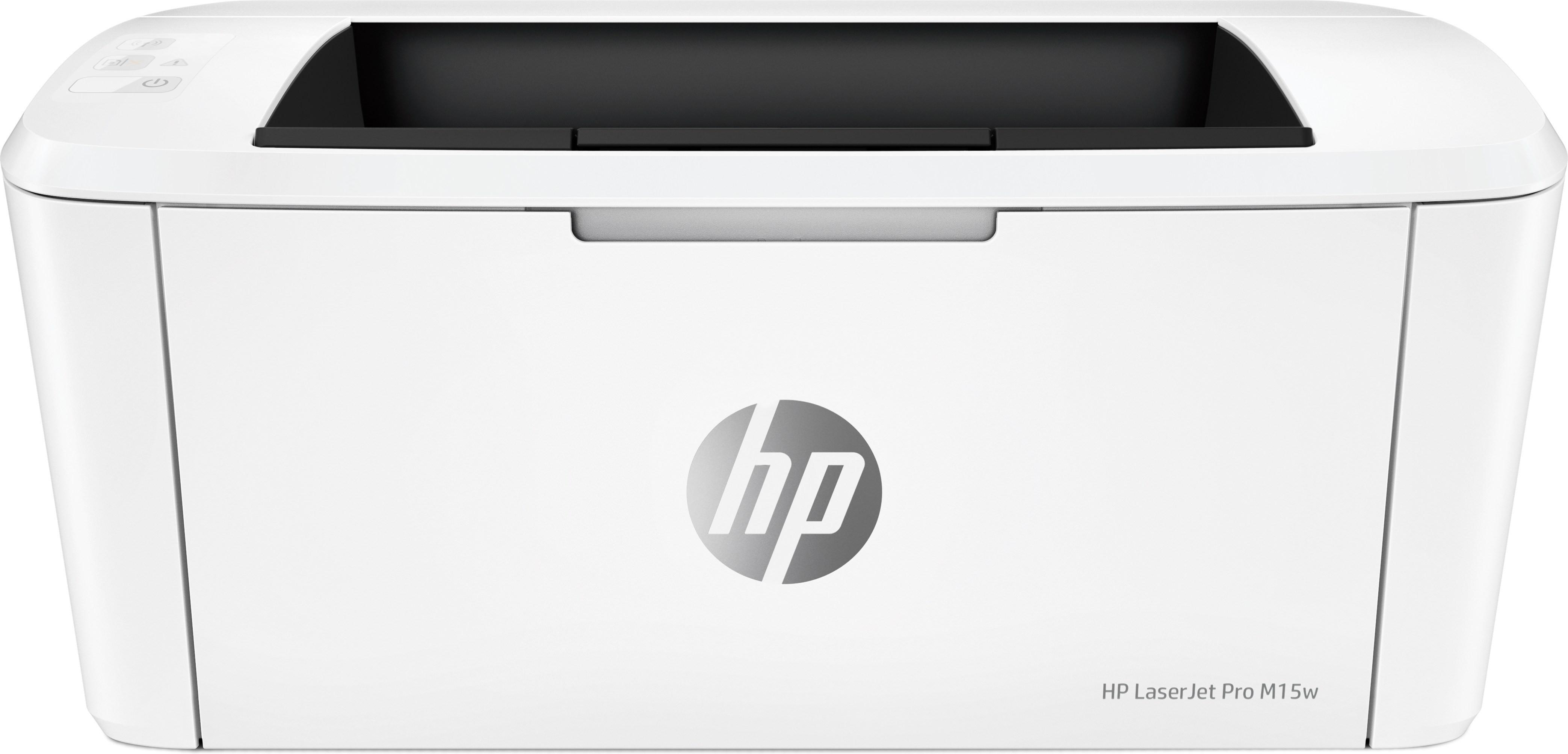 HP LaserJet M15w A4, mono, lézernyomtató Wi-Fi-s